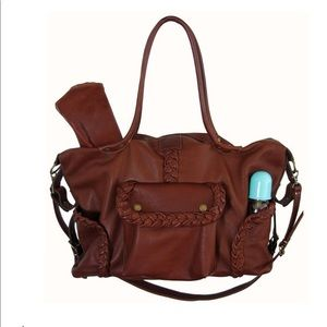 Not Rational Kelly Diaper Bag in Brandy, used for sale